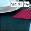 Manteles Verde Oscuro de Polipropileno 50grs/m2 por centímetros online 120cm de Ancho