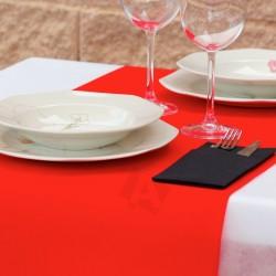 Pack de Manteles de polipropileno combinados 50grs color Rojo envío gratuito
