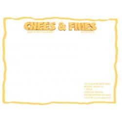 Manteles Individuales Personalizados de Celulosa Blanco medida 30x40cm  a 1 color