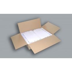 30021 Manteles de Papel Blancos 30x40cm Decorados Económicos para hostelería