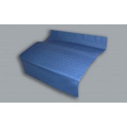 30070 Manteles de papel Azul 100x100cm 48grs 400u