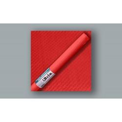 Mantel plastificado en rollo de 120cm x 5m color rojo