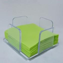 Servilleteros transparentes para Servilleta de Cocktail vendido en pack de 2 unidades