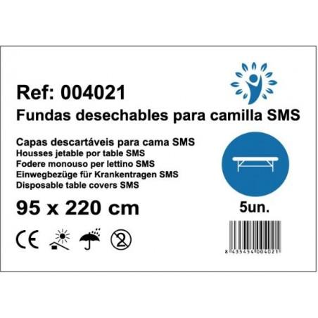 Fundas desechables para camilla SMS 95x220cm