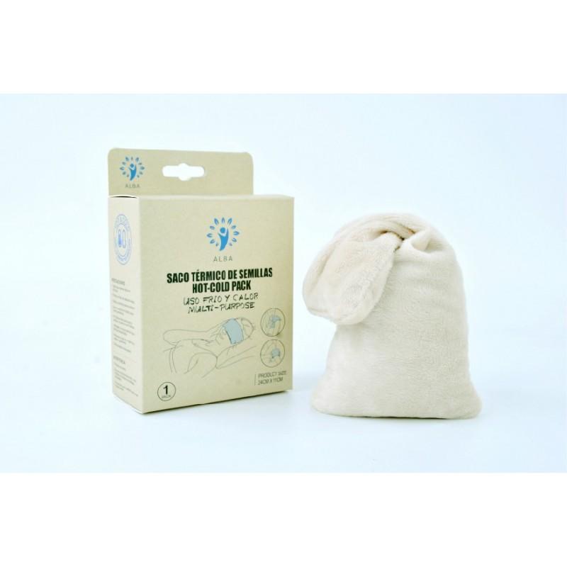 Saco termico semillas 24x11cm para microhondas y congelador