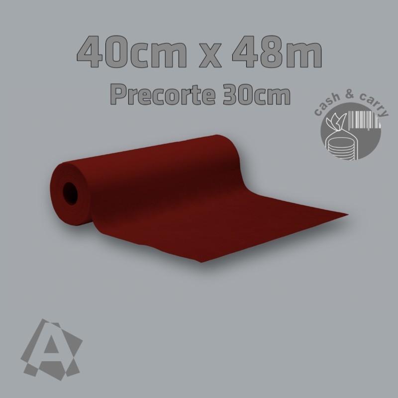32300 Rollo Camino Imitex Burdeos 40cm x 48m con precorte cada 0,30m