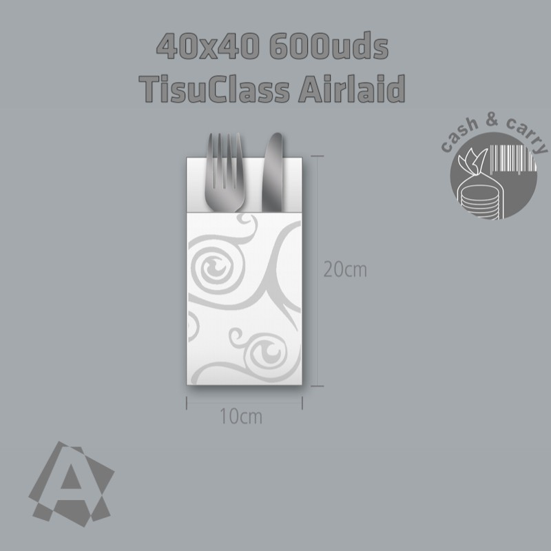 Kangur Blanco con cenefa Sidney TisuClass 60grs/m2 y envío Gratuito 24h-12720