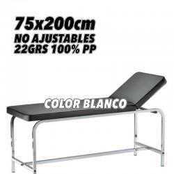 Talla No Estéril Blanca Polipropileno 22grs medida 75x200cm embolsado unitario