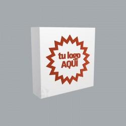 Servilletas de papel personalizadas 20x20cm blancas