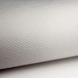 Mantel desechable Individual 30x40cm color blanco en polipropileno de 50grs/m2