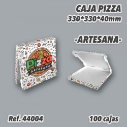 CAJAS DE PIZZAS 33x33 100u REF. 44004 ENVÍO 24H