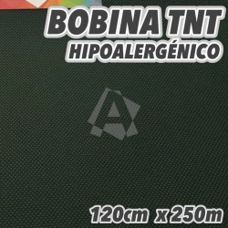 Bobina No tejido 50grs/m2 120cm x 250m Verde Oscuro