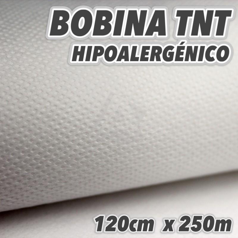 Bobina No tejido 50grs/m2 120cm x 250m Blanco
