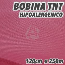 Bobina completa de polipropileno 50grs/m2 120cm x 250m color Burdeos 300m2