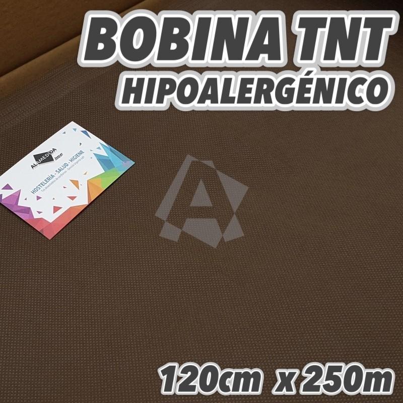 Bobina No tejido 50grs/m2 120cm x 250m color Marrón Chocolate 300m2