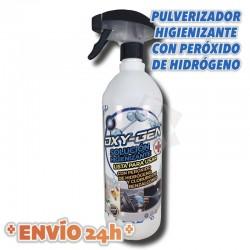 OXI-GEN Botes de 1 litro de Solución Higienizante con Peróxido de Hidrógeno y Cloruro de Benzalconio