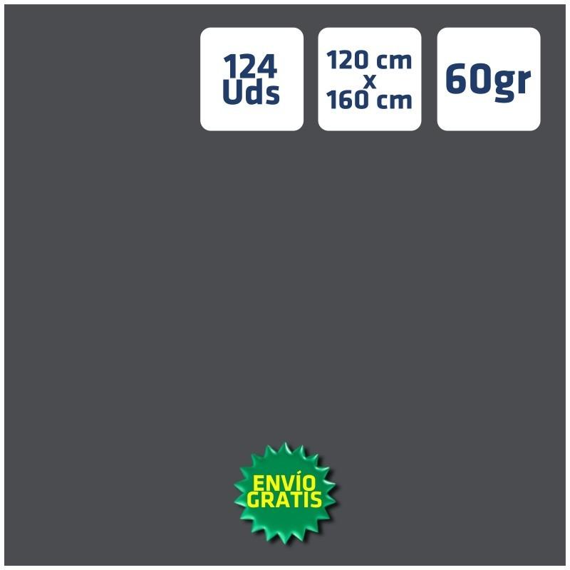 124 Manteles GRISES 120x160cm envío 24h gratis península
