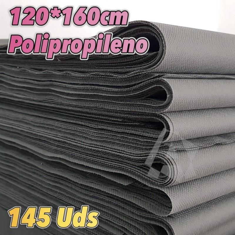 145 Manteles GRISES 50grs 120x160cm envío 24h gratis península