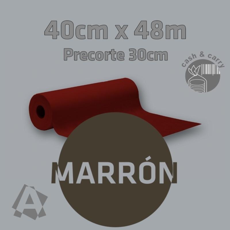 32302 Rollo Camino Imitex Marrón 40cm x 48m con precorte cada 0,30m