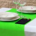 160 Manteles desechables de Polipropileno 60grs/m2 Verde Manzana 120x120cm