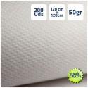 200 Manteles desechables Blancos 120x120cm y envío gratis