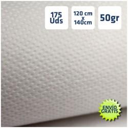 170 Manteles desechables 120x140cm Blanco envío gratuito Península