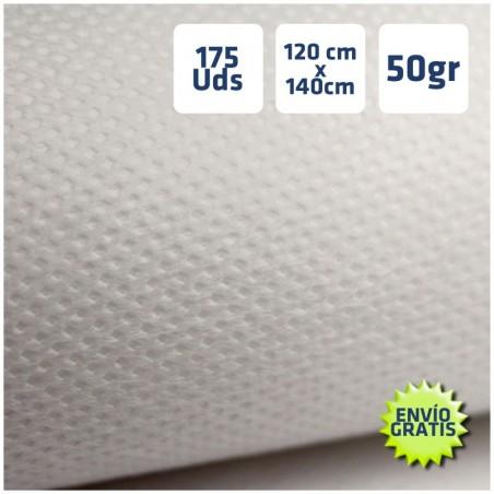 Manteles desechables 120x140cm Blanco