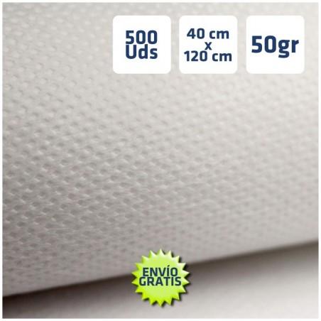 500 CAMINOS DE MESA BLANCOS 40x120cm