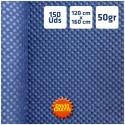 150 Manteles tnt Azul Marino 120x160cm envío gratis Península 24h