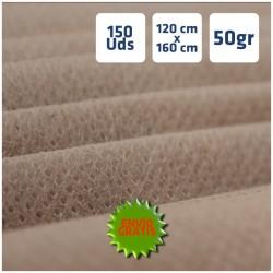 150 Manteles TNT 120x160cm Beig de Polipropileno y envío gratuito