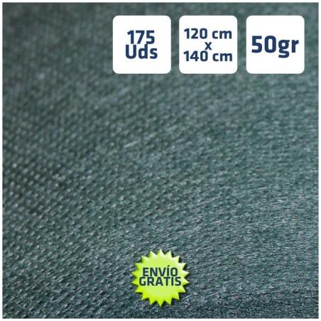 Manteles desechables 120x140cm Verde Oscuro