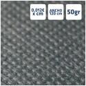 Manteles Negros de Polipropileno 50grs/m2 por centímetros online 120cm de Ancho