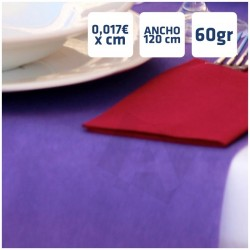 Manteles Violeta de Polipropileno 60grs/m2 por centímetros online 120cm de Ancho