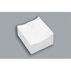 Servilletas de Cocktail color blanco 20x20cm sueltas en paquetes de 100 unidades