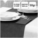 Manteles Negros de Polipropileno 50grs/m2 por centímetros online 100cm de Ancho
