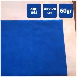 400 Caminos de Mesa color Azul de  40x120cm Polipropileno de 60grs/m2